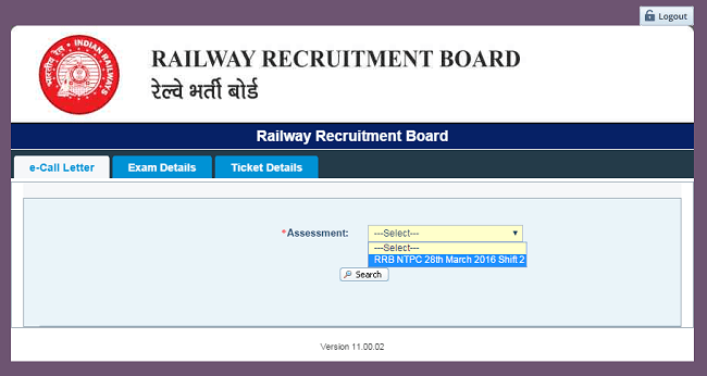 RRB-NTPC-Download-Admit-Card-Call-Letter-Step2