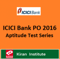 ICICI Bank PO Recruitment 2016 - Mock Test Series