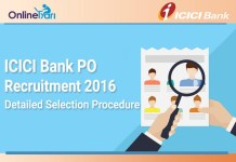 ICICI Bank Selection Procedure for Bank PO Recruitment 2016-17