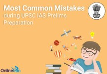 Most Common Mistakes during UPSC IAS Prelims Preparation