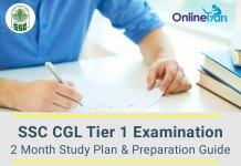 Crack SSC CGL Tier 1 Exam in 60 Days