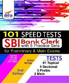 SBI Clerk Mains Online Mock Tests Disha Publication