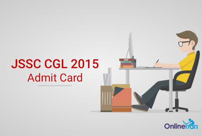 JSSC CGL Admit Card, Call Letter 2016