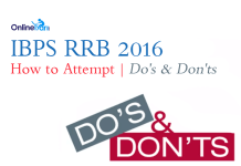how to attempt ibps rrb 2016