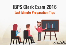 IBPS Clerk Mains Last Minute Preparation Tips 2016