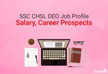 SSC CHSL DEO Job Profile, Salary, Career Prospects