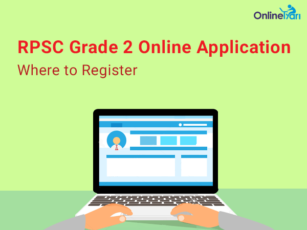 RPSC Grade 2 Online Application