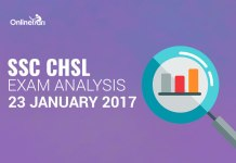SSC CHSL 23rd January Questions with Solutions ( Actual Paper)