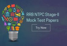 RRB NTPC Stage 2 Mock Test Papers