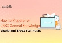 How to Prepare for JSSC General Knowledge: Jharkhand 17993 TGT Posts