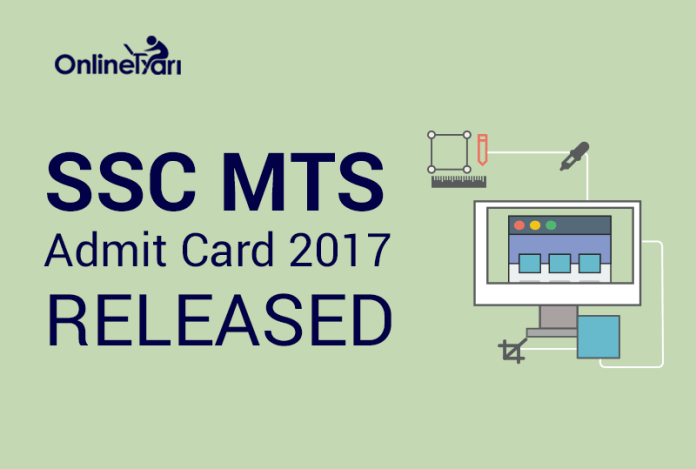 SSC MTS Admit Card 2017: Download Hall Ticket Zone-Wise