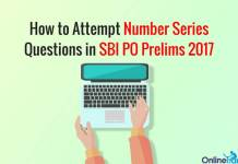 How to Attempt Number Series Questions in SBI PO Prelims 2017