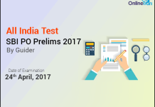 SBI PO Prelims All India Test (AIT)| April 24, 2017: Register Now