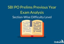 SBI PO Prelims Previous Year Exam Analysis: Section-wise Difficulty Level