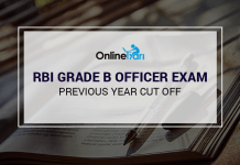 RBI Grade B Previous Year Cutoff: Sectional & Overall