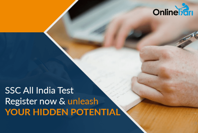 SSC All India Test Register now & unleash your hidden potential