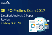 SBI PO Prelims 7th May 2017 (Shift 4) Exam Analysis, Review