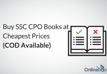 Buy SSC CPO Books at Cheapest Prices (COD Available)