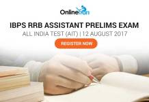 Last day to register for IBPS RRB Assistant All India Test 2017