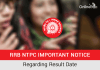 RRB NTPC Important Notice