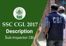 SSC CGL: Sub Inspector CBI Job Profile, Salary, Pay Scale, Career