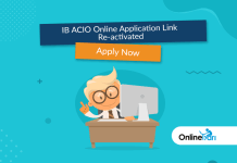 IB ACIO Online Application Link Re-activated: Apply Now