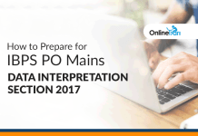 How to Prepare for IBPS PO Mains Data Interpretation Section 2017