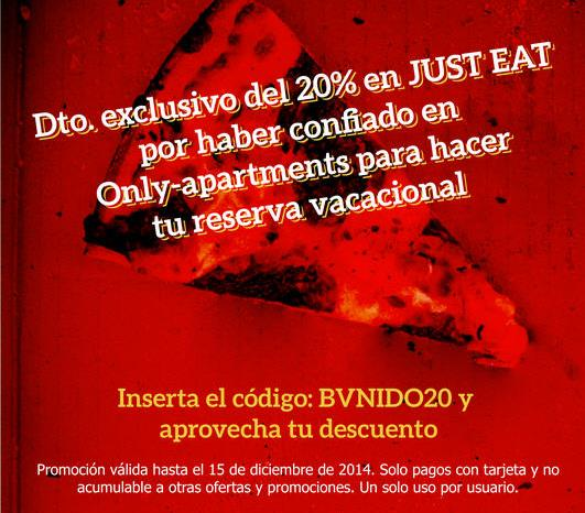 Only Apartments + Just Eat