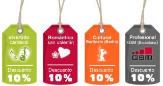 10% DE DESCUENTO EN APARTAMENTOS