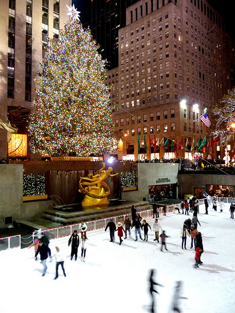 Eislaufen-Rockefeller-Center
