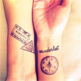 travel tattoo