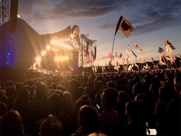 2.Glastonbury