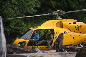North Shore SAR Assists on Debeck Creek Task