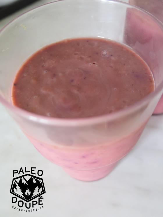 Jahodový kefírový nápoj