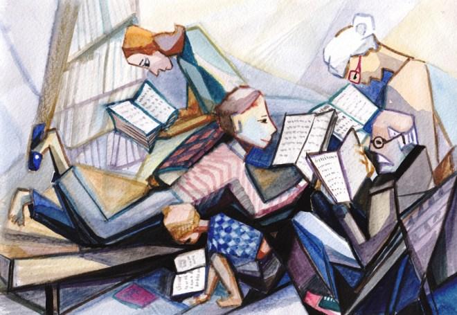 Illustration by Krimzoya