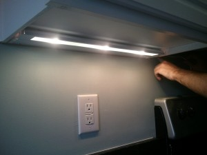 update how to install cabinet lighting