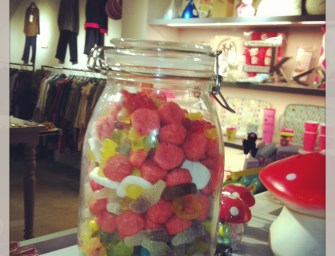 Sweeties in jar at petit bazaar , and the winner is …