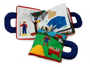 Soft books for kids travel