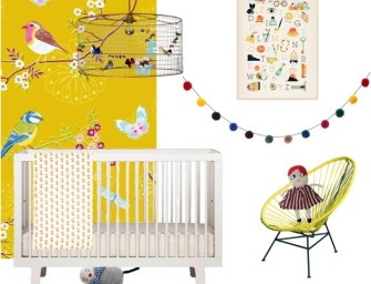 Yellow Room Ideas for Children: Summer design ideas for bedrooms