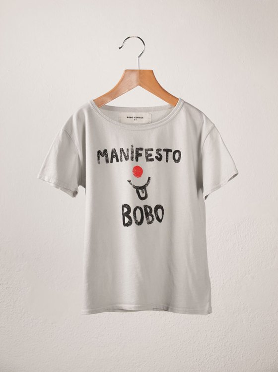 BOBO Short Sleeve T-Shirt Manifesto