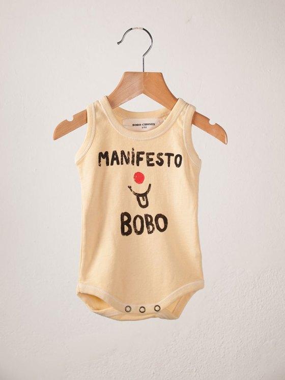 BOBO Sleeveless Body Manifesto