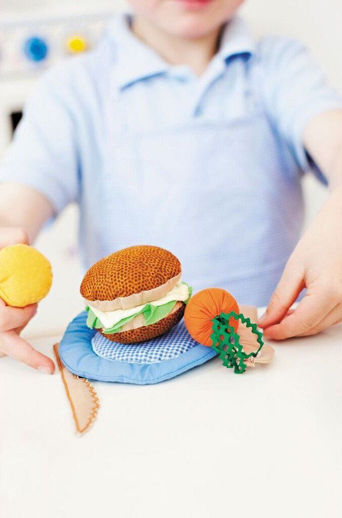 burger food toy