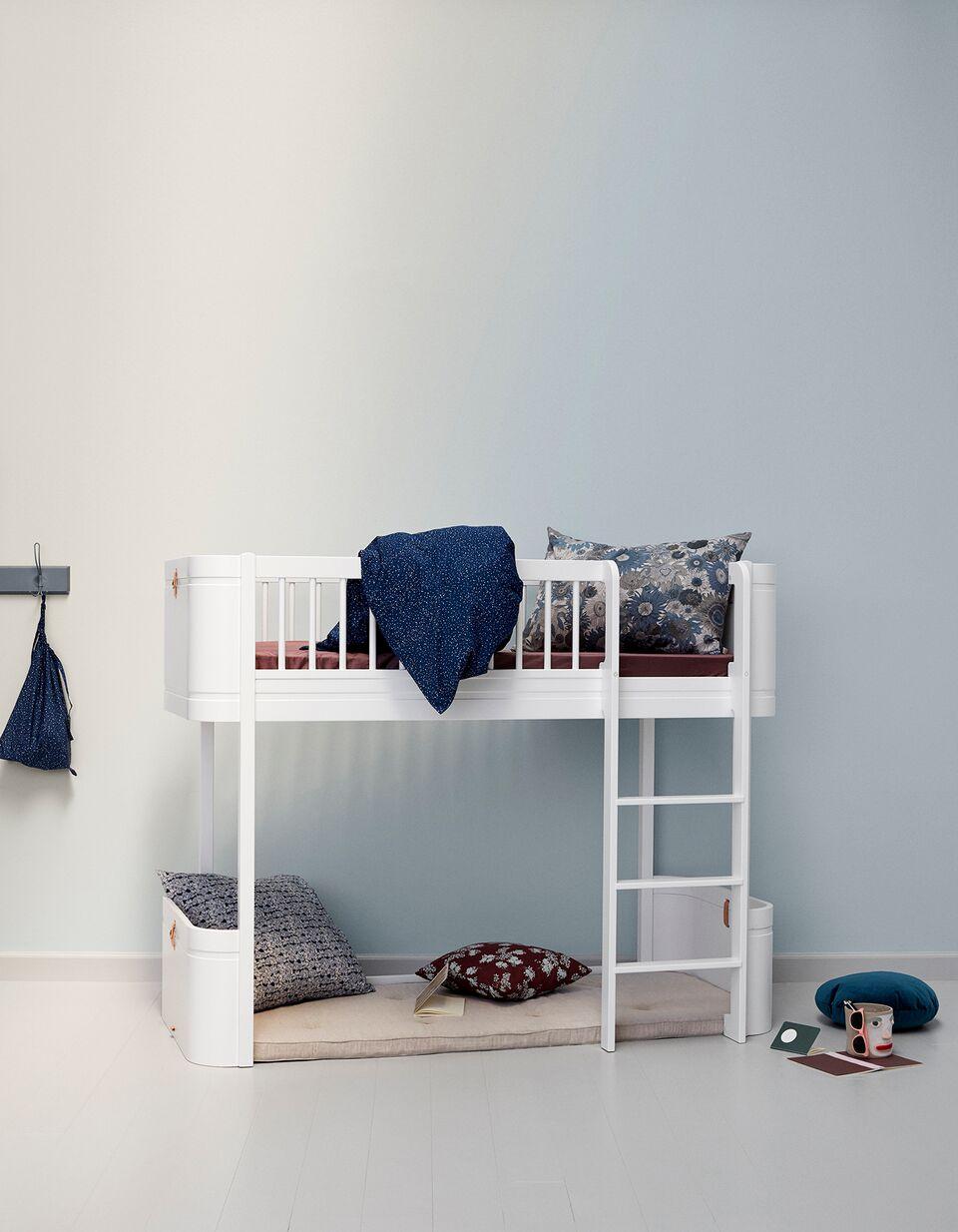 white loft beds