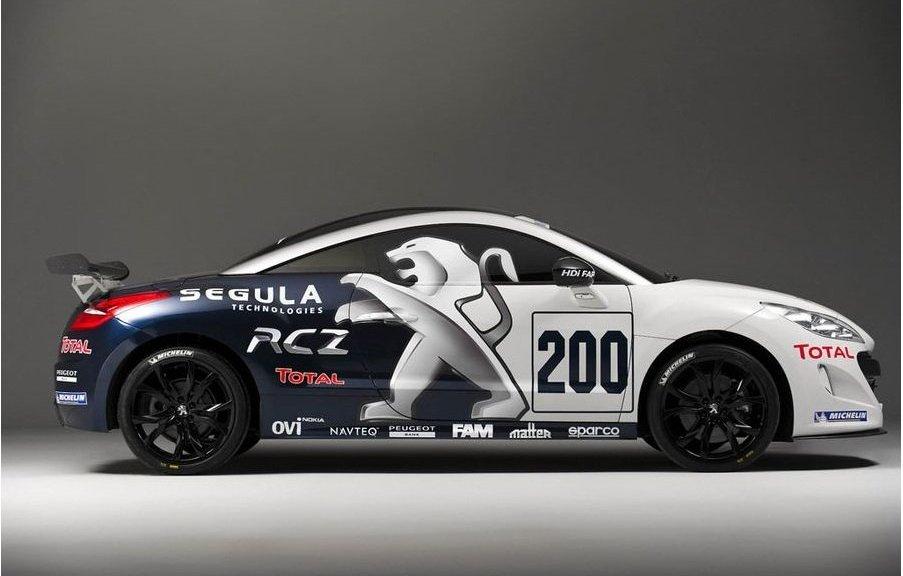 Peugeot Racing RCZ Nurburgring 24h Entrycar
