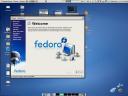 Fedora 7 Welcome Screen