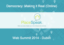 Democracy: Making it Real (Online)