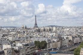 Výhled z Notre Dame