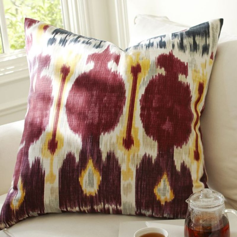 Zoe Ikat Pillow Cover
