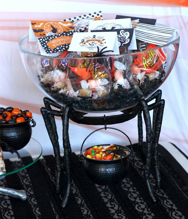 image 36 Vintage Halloween party printables + potterybarn