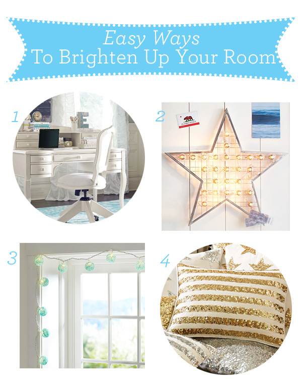 Easy Tips To Brighten Your Room